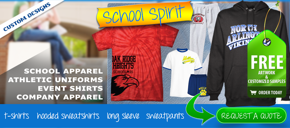 School Spirit Apparel